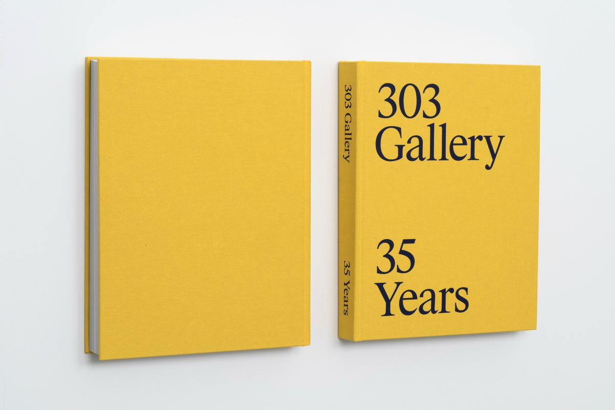Cover of 303 Gallery 35 Years
