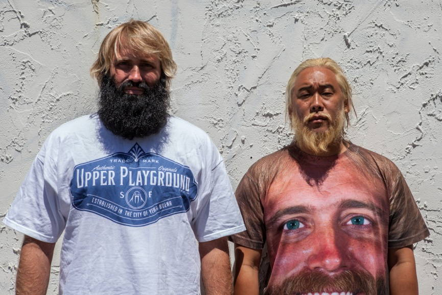 David Choe and Critter give away $100.000