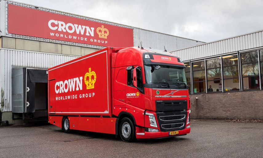 Photo of a Crown Fine Art truck. contact our home page for value of your business