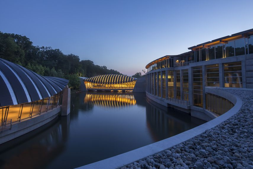 The foundation is in contact with Crystal Bridges Museum of American Art that will fund many shows