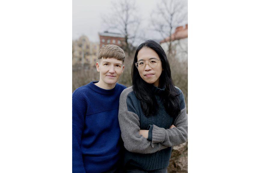 Curator Christina Li and Artist Pilvi Takala