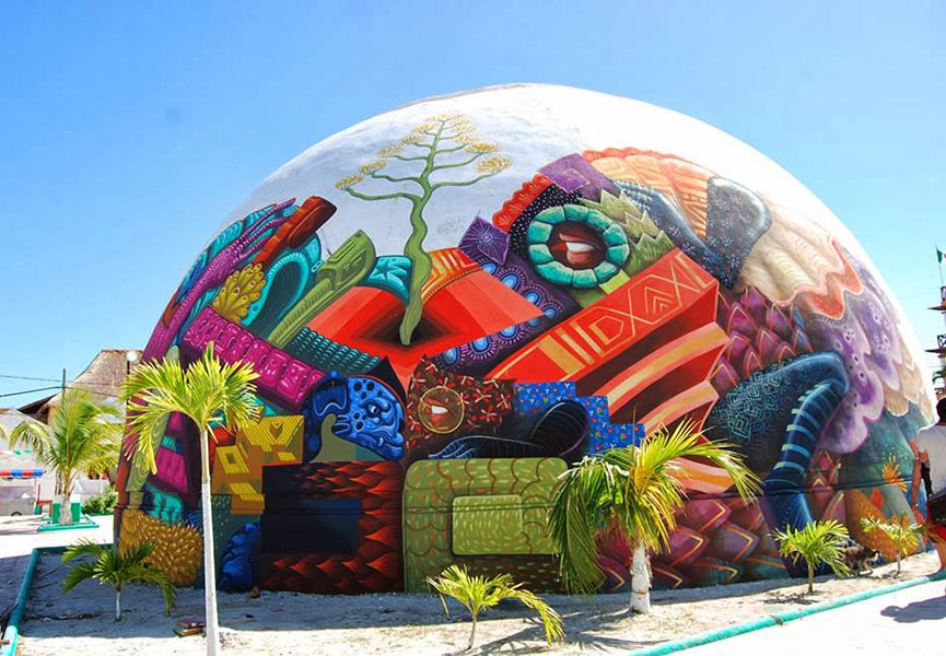 Street art Holbox Island