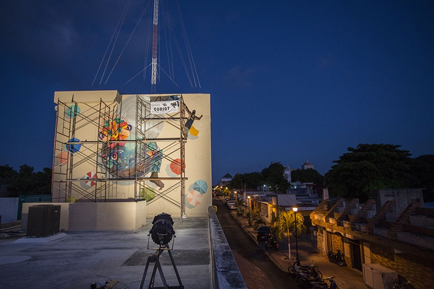 Sea Walls: Murals for the Oceans Mexico 2015