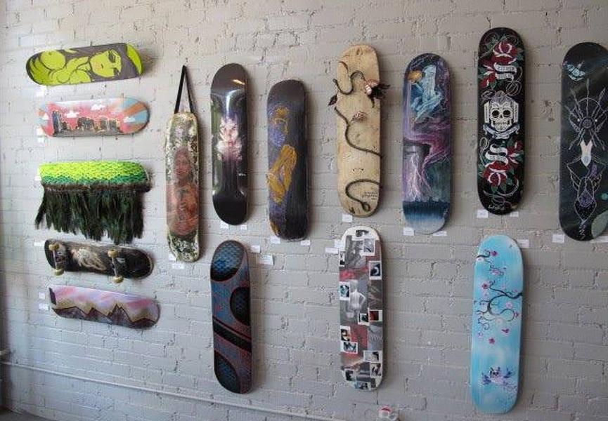 Custom Art Skate Decks