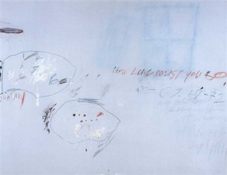 Cy Twombly-How Long Much You Go-1972
