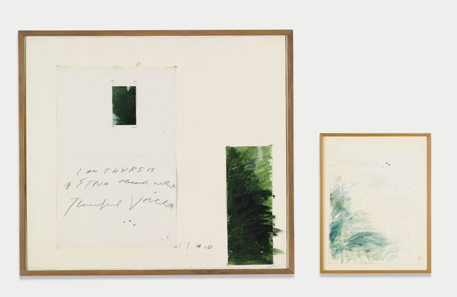 Cy Twombly-Idilli (I Am Thyrsis Of Etna Blessed With A Tuneful Voice)-1976