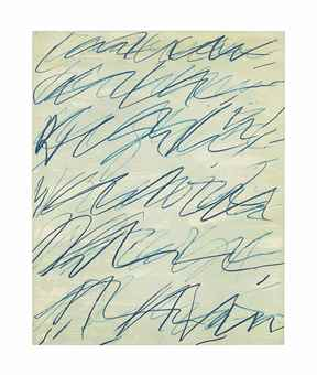 Cy Twombly-Roman Notes I-1970