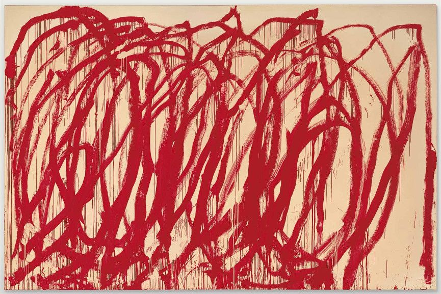 Cy Twombly - Untitled, 2005