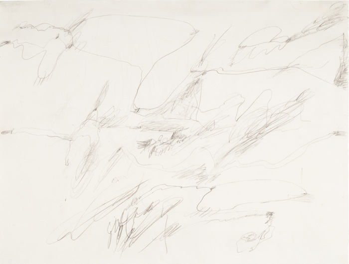 Cy Twombly-Untitled (Augusta Georgia)-1954