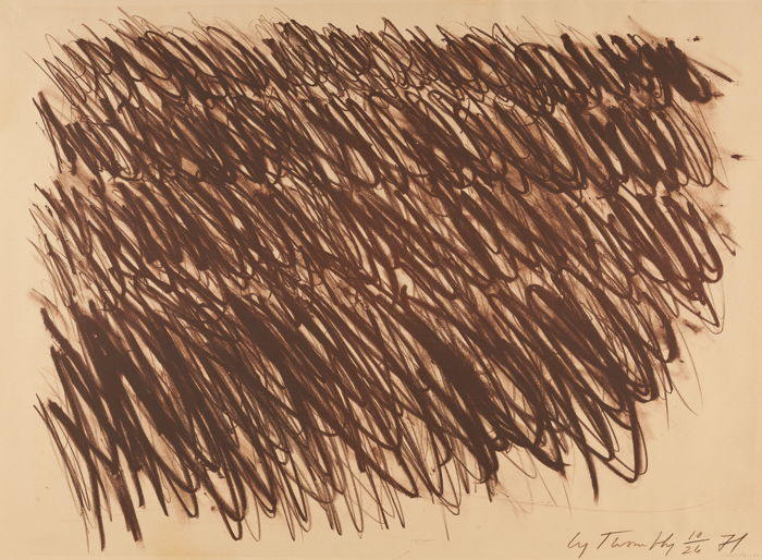 Cy Twombly-Untitled-1972