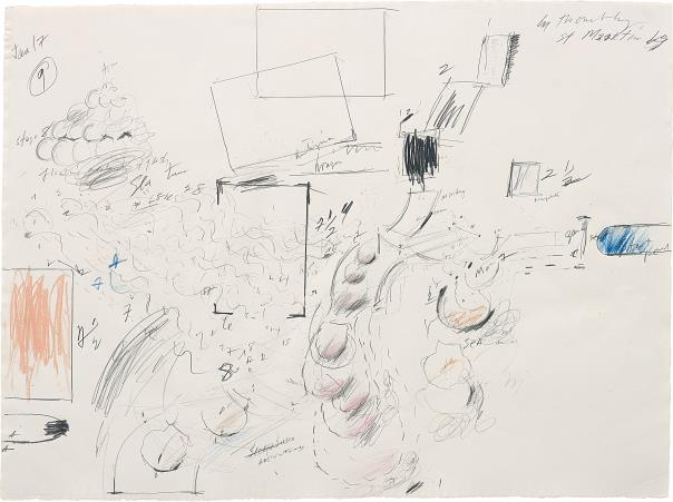 Cy Twombly-Untitled (St. Maartin)-1969