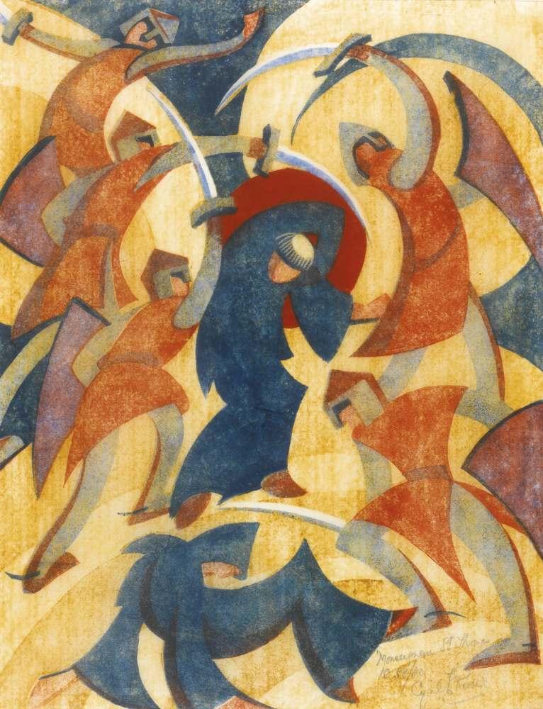 Cyril Edward Power-Monseigneur St Thomas-1931