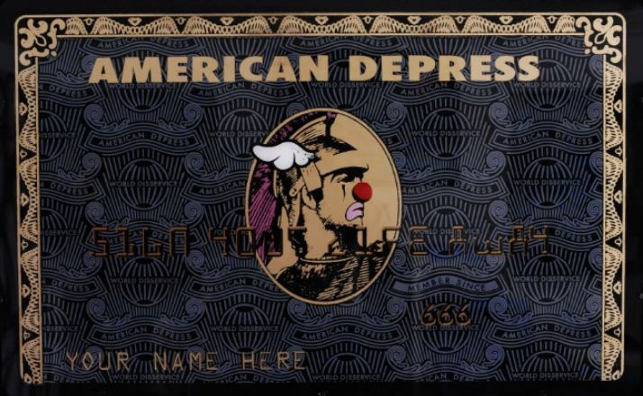DFACE-American Depress - Black and Gold-2012