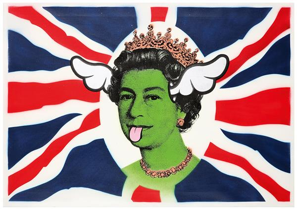 DFACE-Dog save the queen no.9-2006