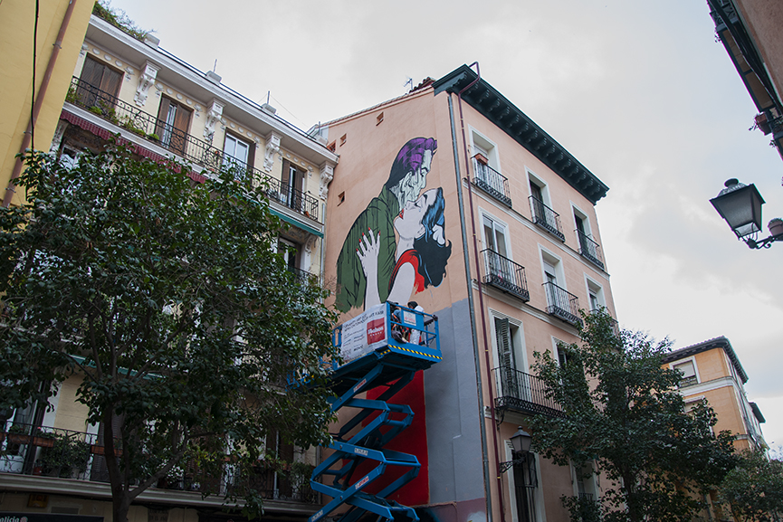 D*Face Mural Urvanity Art Madrid 2020