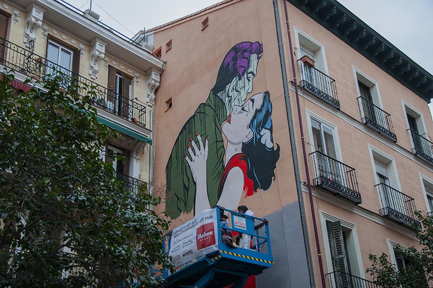 D*Face Mural Urvanity Art Madrid 2020