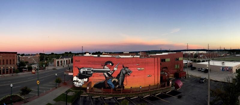 DFace - Badlands - Fort Smith, Arkansas, 2015