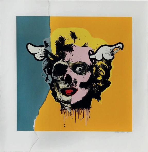 D*Face - Marilyn, 2007 (76 x 74 cm)