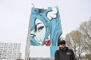 The New D*Face Mural in Paris? It's Whatever You Want It to Be, Says the Artist
