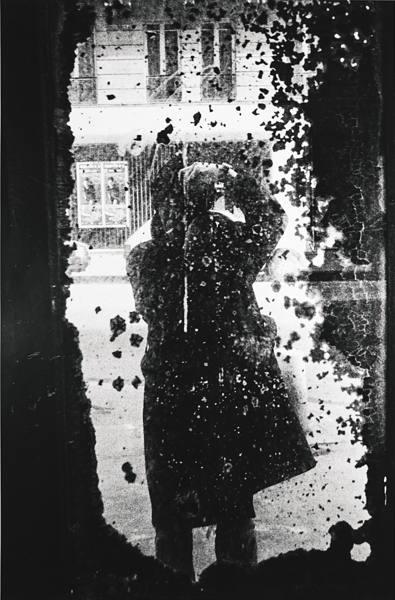 Daido Moriyama-Paris (Self-Portrait)-1989