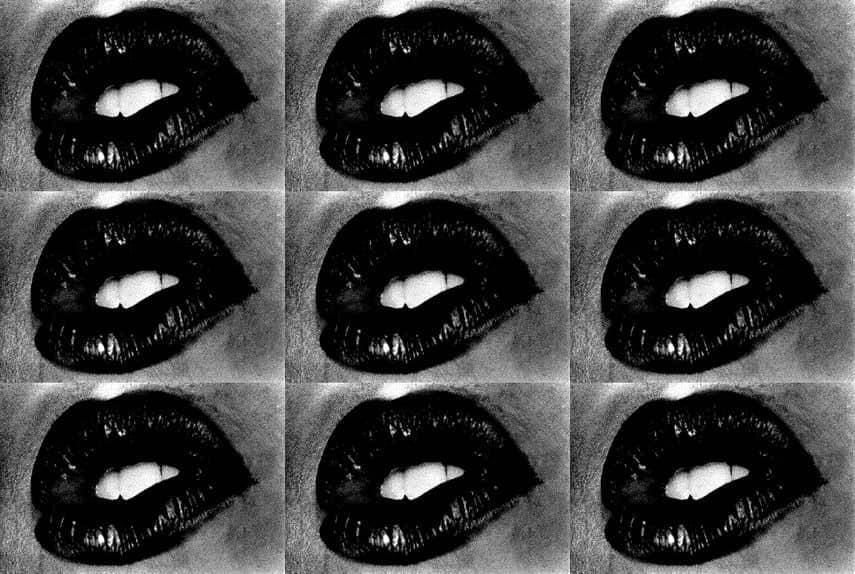 Daido Moriyama - Untitled (Lips 9 times), 2001
