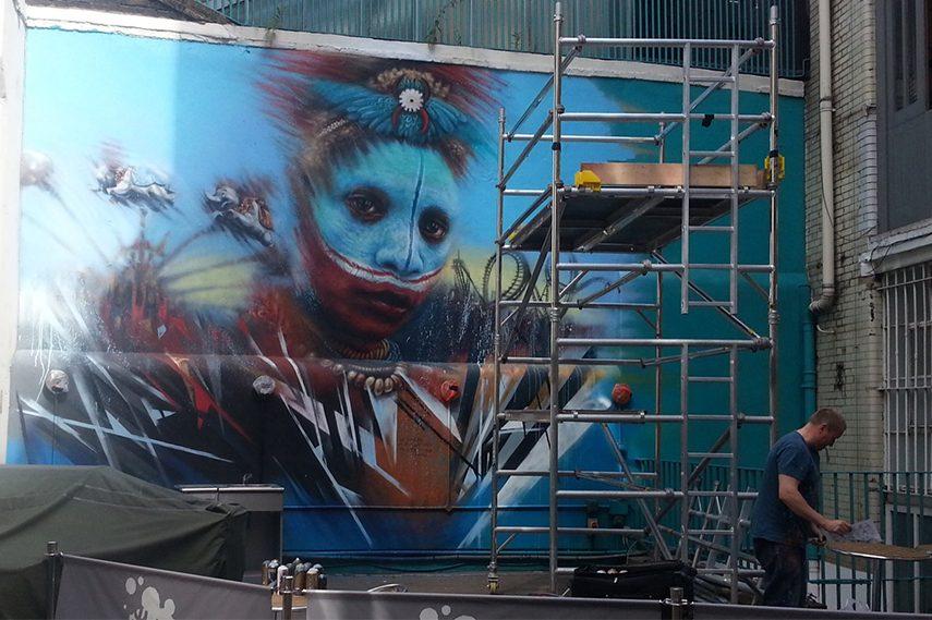 Dale Grimshaw – Disney's World street london work gallery things