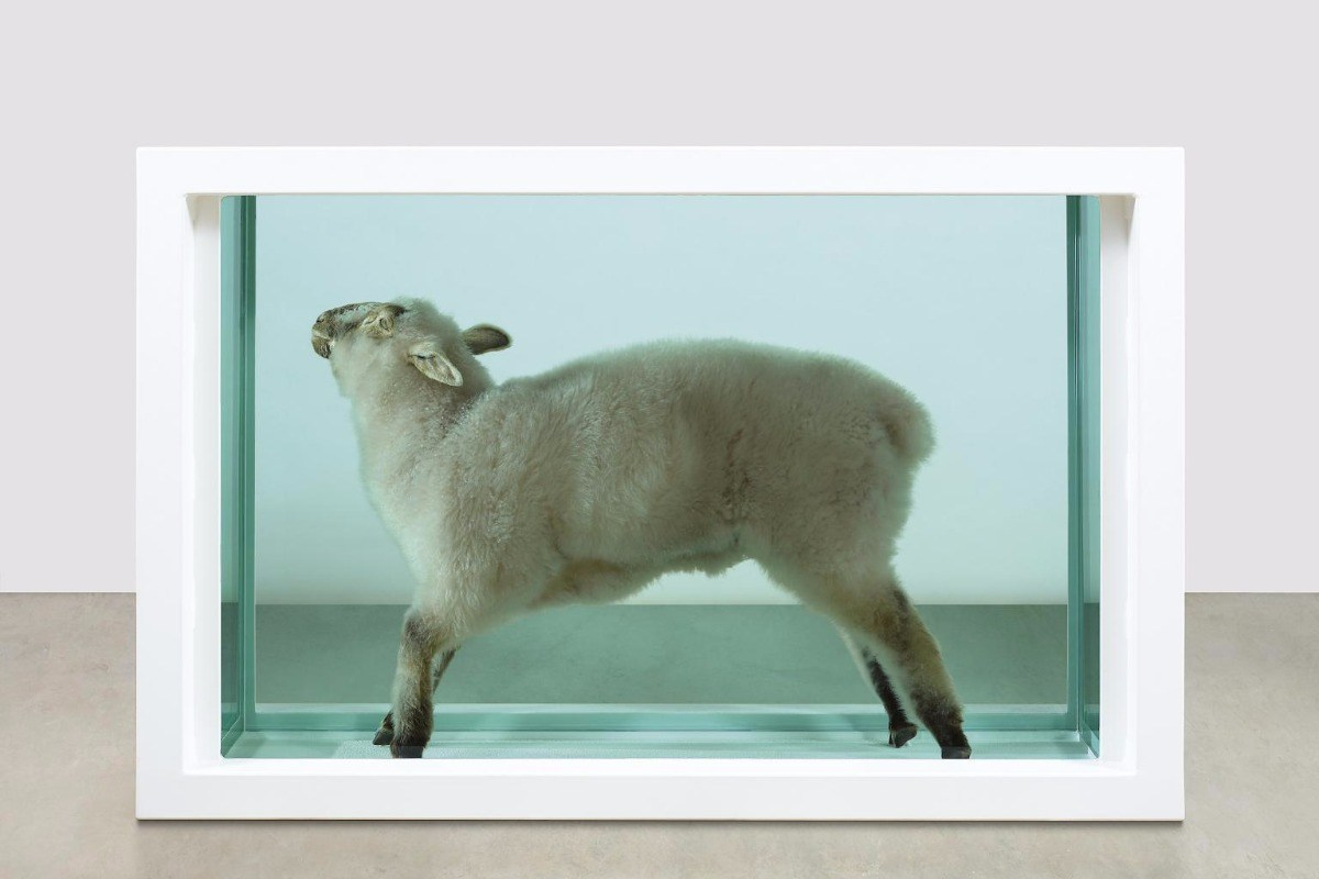 Damien Hirst – Away from the Flock, 1994 via tate.org