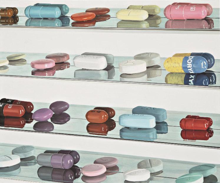 Damien Hirst-20 Pills-2005