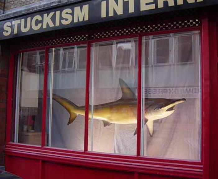 Stuckism International Gallery - A Dead Shark Isnt Art