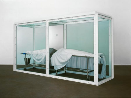 Damien Hirst-Adam and Eve (Banished from the Garden)-1999