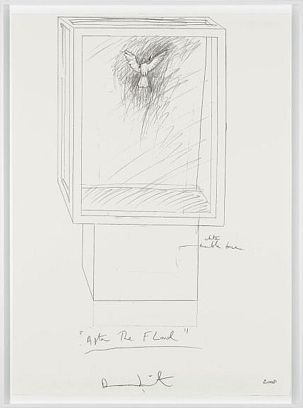 Damien Hirst-After the Flood Drawing-2008