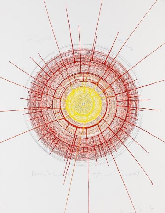Damien Hirst-All Around the World-2002