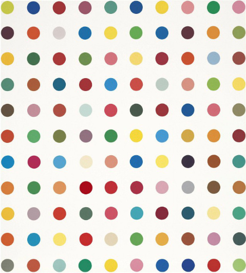 Damien Hirst-Anhydrogitalin-1993
