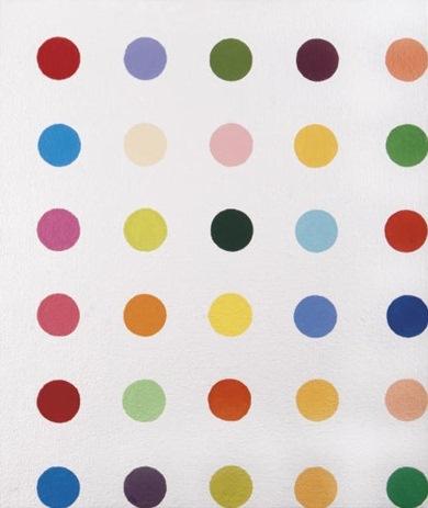 Damien Hirst-Arachidic Acid-1994