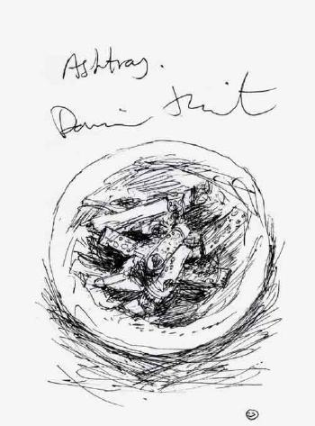Damien Hirst-Ashtray-1998