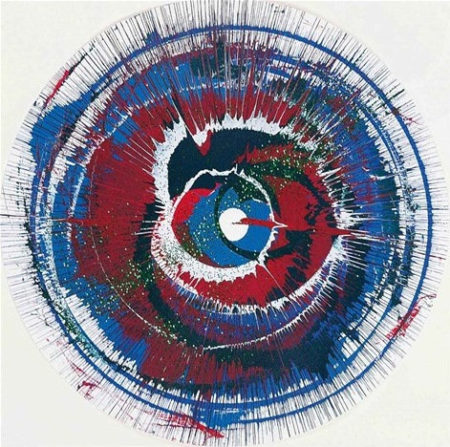 Damien Hirst-Band Aid 20 Painting-2003