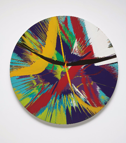Damien Hirst-Beautiful Ain't That a Kick in the Head Painting-2008
