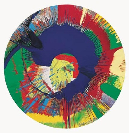 Damien Hirst-Beautiful, B Painting-1996
