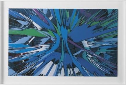 Damien Hirst-Beautiful Birthing Spin-2008