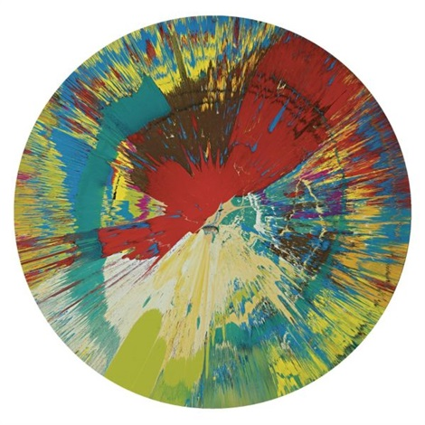 Damien Hirst-Beautiful Bleed Riding the Waves Painting-2005