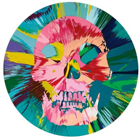 Damien Hirst-Beautiful Bodhisattva Trance Painting-2007