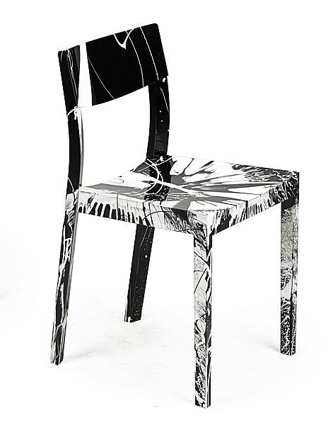 Damien Hirst-Beautiful Brainwashing Narcissit Spin Chair-2013