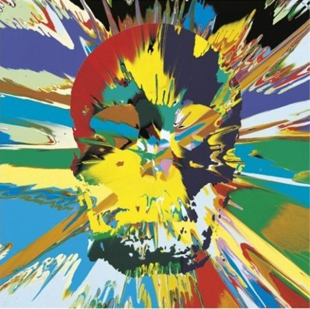 Damien Hirst-Beautiful Branwen Paraphrenia Intense Painting (With Extra Inner Beauty)-2008