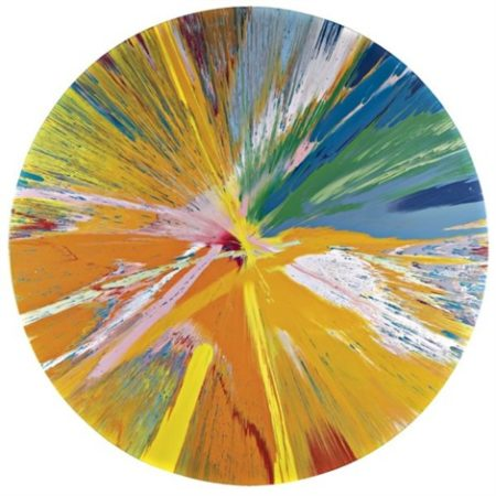 Damien Hirst-Beautiful Butterbomb Painting-1999