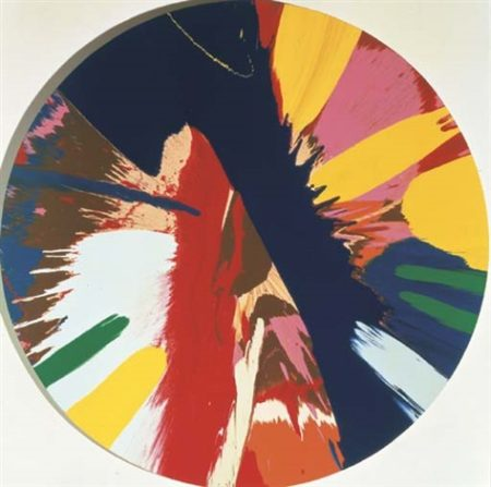 Damien Hirst-Beautiful, Crumbling, Empire Painting-1996