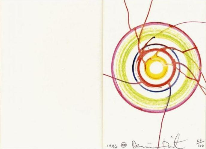 Damien Hirst-Beautiful Drawing-1994