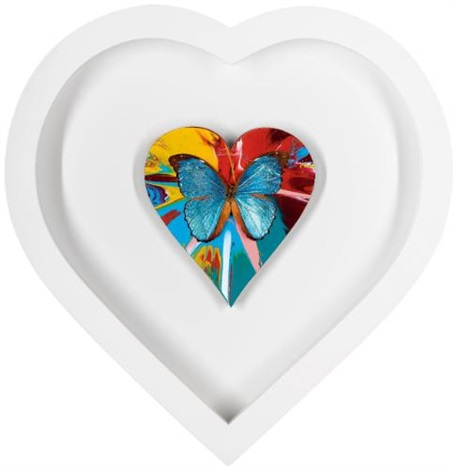 Damien Hirst-Beautiful Eden Valley Hospice Spin Heart (With Butterfly)-2010