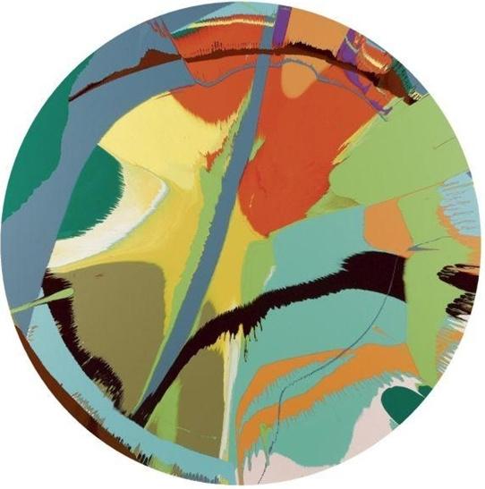 Damien Hirst-Beautiful Exoticalia Painting-2007