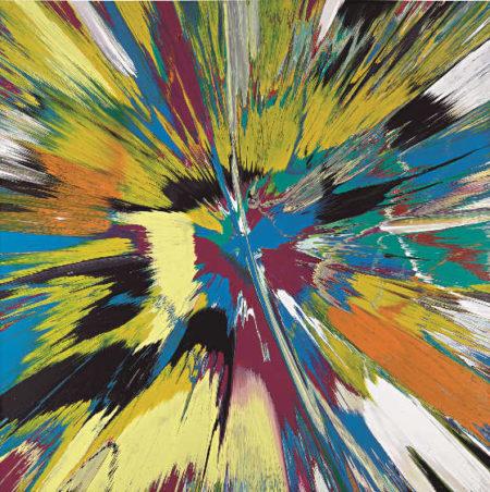 Damien Hirst-Beautiful Exploded Aquarium Painting-2007