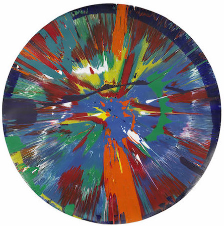 Damien Hirst-Beautiful For Brian and Jean Painting-2008